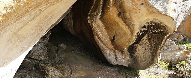 In solchen Höhlen haben schon Steinzeitmenschen gehaust