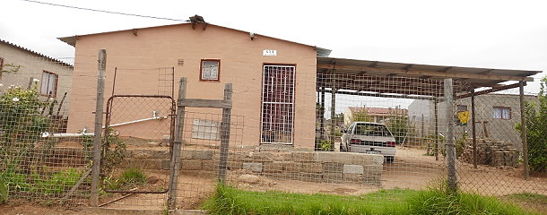 """""""Mandela-Häuser"""" in den Townships"""