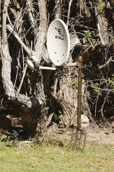 Wichtigstes Utensil bei Südafrikas Campern: Die Mistgabel