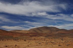 Karge Landschaft am Aninous-Paß