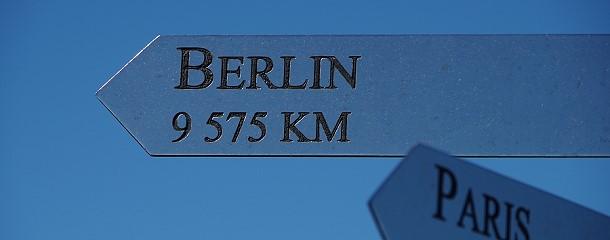 ... ist es ganz schön weit nach Berlin