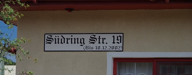 deutsche Straßennamen