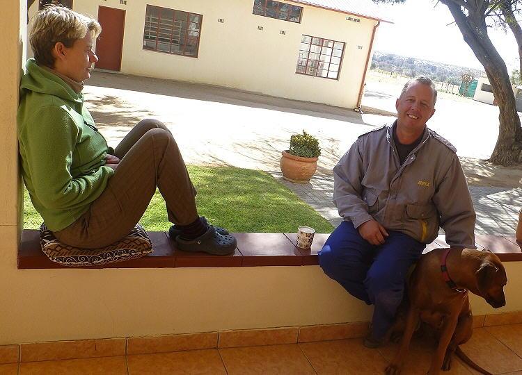 Uwe und Janet Trümper aus Windhoek