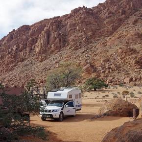 Zwischen Namib-Wüste und Naukluft-Bergen
