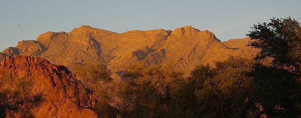 höchster Gipfel Namibias