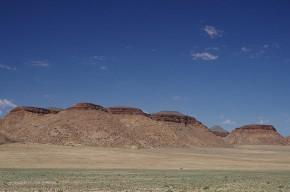 am Rand der Namibwüste