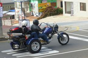 In Mossel Bay trafen sich hunderte von Bikern zur vorösterlichen Ausfahrt.