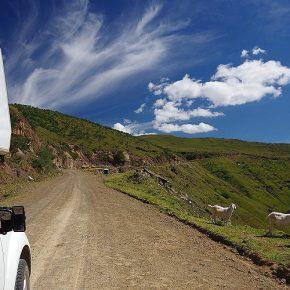 Unterwegs in die Berge