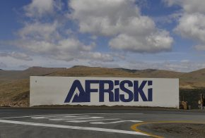 Wieder geht es nach oben. In Lesothos einzigem Skigebiet...