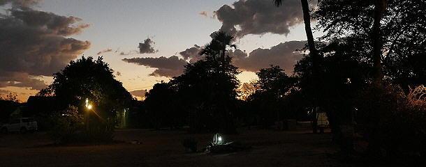 Einer der preiswerten Campingplätze in Palapye