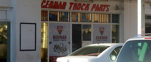 Gerade nicht vorrätig: German Trucks in Maseru