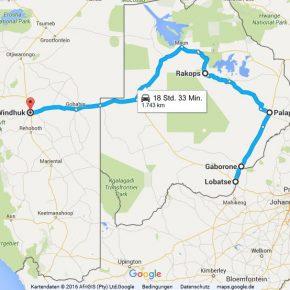 Statistik Botswana, Teil 1