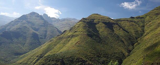Lesothos fantastische Bergwelt