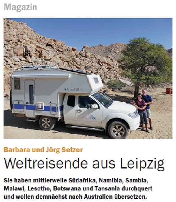 Artikel im BLITZ! Stadtmagazin, 01/2017