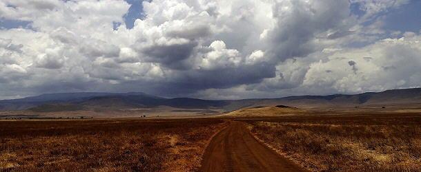 unendliche Weite im Ngorogoro-Krater