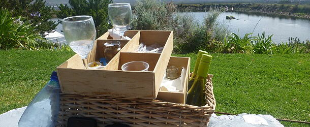 Picknick im Cape Point Vineyard