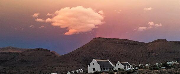 Gewitterstimmung im Karoo-Camp