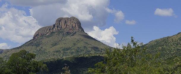 Das Wahrzeichen im Marakele-Nationalpark ist der 2100 Meter hohe Kransberg