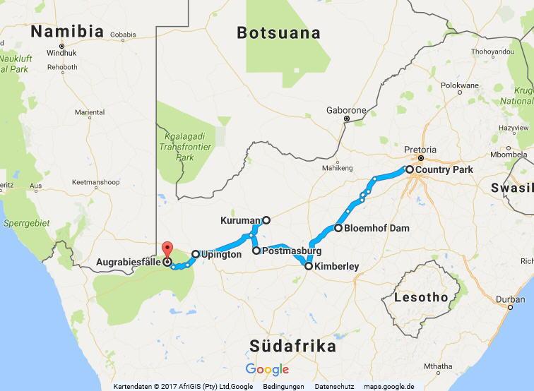 Statistik Südafrika, Teil 24 (Johannesburg-Upington)