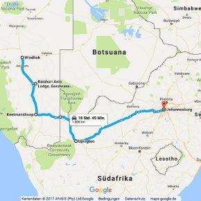 Statistik Südafrika, Teil 25 (Windhoek, Johannesburg)