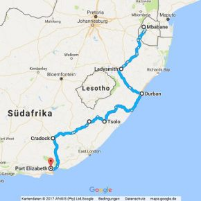 Statistik Südafrika, Teil 27 (Mbabane – Port Elizabeth)