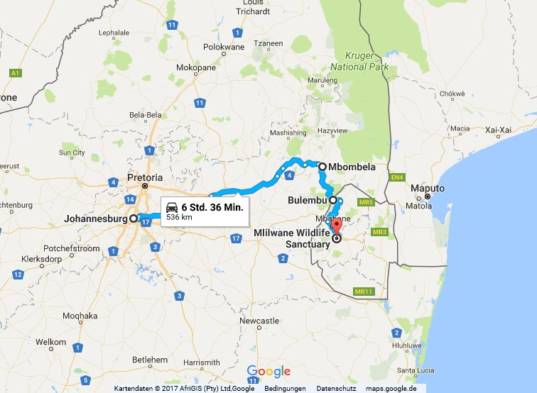 Statistik Swasiland, von Johannesburg nach Mbabane