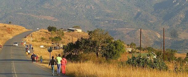 Straßenleben in Swasiland