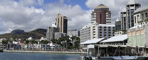 Modern präsentiert sich die Hauptstadt Port Louis.