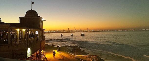 der Hafen von Port Elisabeth