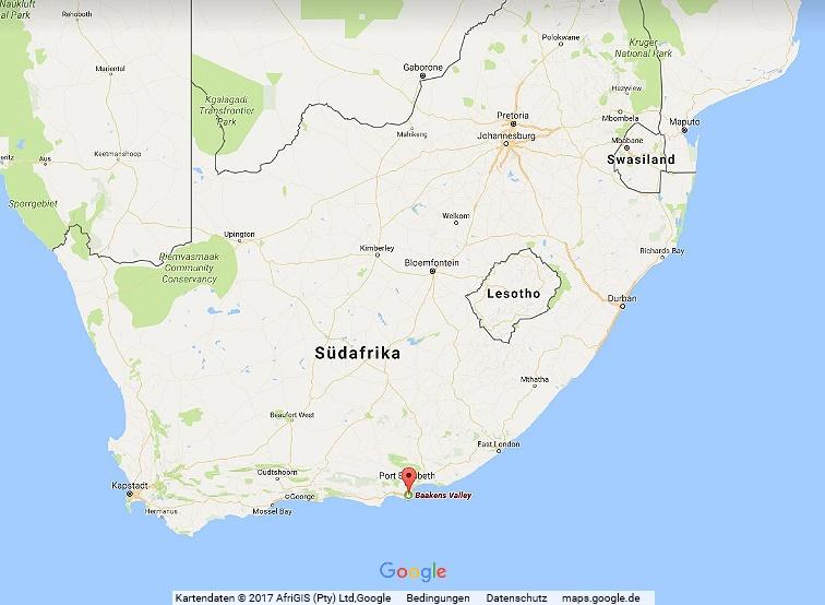 Wandern in Südafrika, Port Elizabeth, The Trail of the Roseate Tern im Cape Recive Nature Reserve