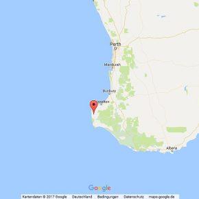 Radfahren in Australien, Westaustralien, Margaret River - Prevelly