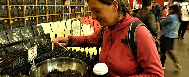 in der Schokoladenmanufaktur