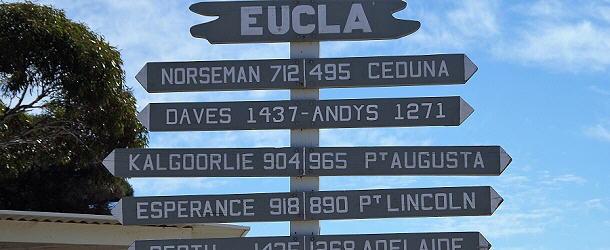 Mittendrin in der Nullarbor-Ebene liegt das Roadhouse Eucla, die wohl beste Anlage an der Strecke.