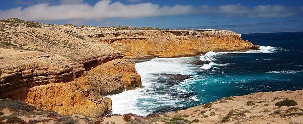 Atemberaubend in Form und Farben - die Westküste der Eyre Halbinsel