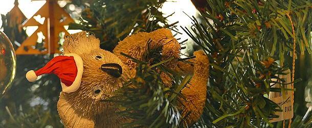 Australischer Weihnachtbaumschmuck