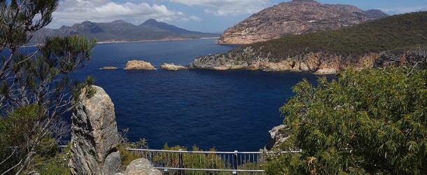 fantastischer Ausblick auf die Ostküste Tasmaniens