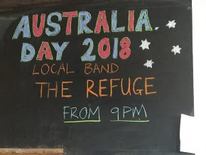 Australian Day 2018 in der Dorfkneipe