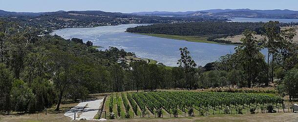 Unterwegs auf der Tasmanischen Weinroute