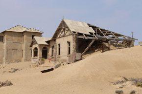 Die verlassene Diamantenstadt Kolmannskuppe hatte etwas mystisches und faszinierendes.