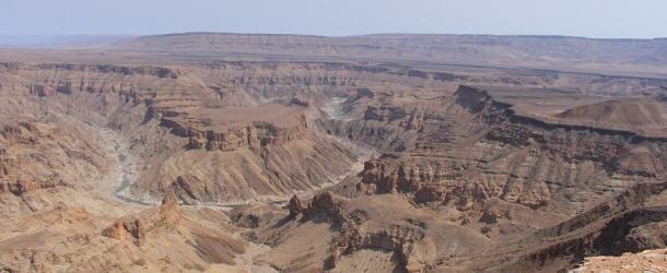 Der Fish River Canyon war jeden einzelnen Kilometer wert
