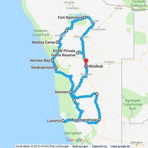 Statistik Namibia, Teil 18 (Martins Rundreise)