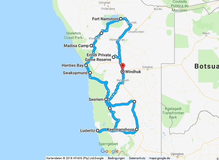 Statistik Namibia, Teil 17 (Martins Rundreise)