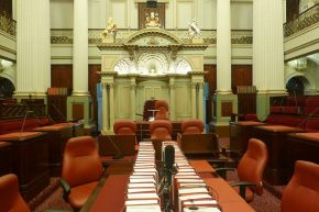 Einmal im Parlament sitzen – in Melbourne war das möglich.