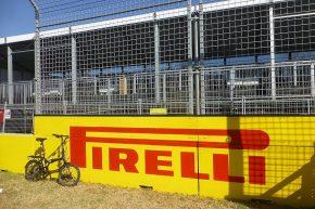 Mit dem Fahrrad auf Formel 1 Kurs...