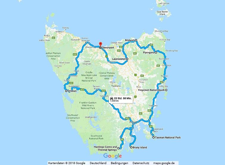 Statistik Australien Teil 7, Tasmanien