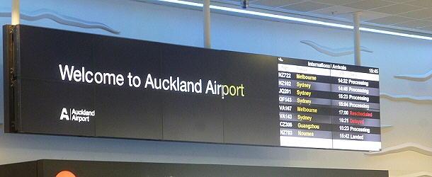 Stippvisite in Neuseeland