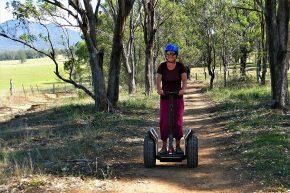 ... führte unsere Segway Tour durch Wälder, Felder und Weinberge.
