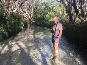Wandern auf dem Wasserweg – auf Fraser Island ist das möglich.