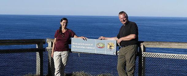 Zwischendurch passierten wir Cape Byron, den östlichsten Punkt des Australischen Festlandes.