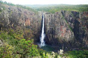 mit 268 Metern der höchste Einzelwasserfall Australiens – die Wallaman Falls